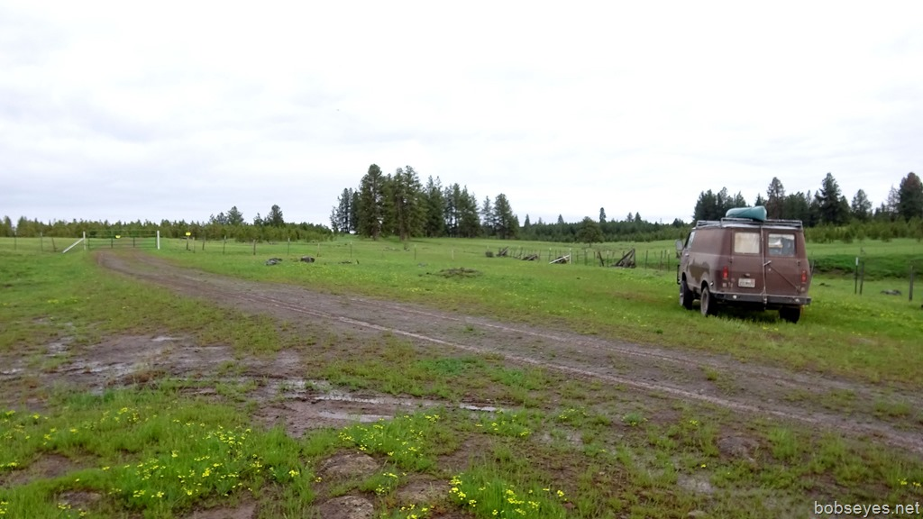 Oregon headed north and four wheeling for a camp spot